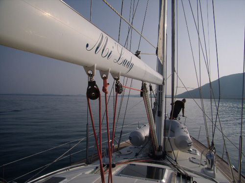 Sailing The Ionian in Greece